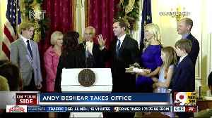 Democrat Andy Beshear sworn in as Kentucky governor [Video]