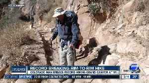91-year-old man from Colorado is oldest man to hike Grand Canyon rim to rim [Video]