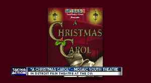 'A Christmas Carol' performing this weekend at the DIA from Mosaic Youth Theatre [Video]