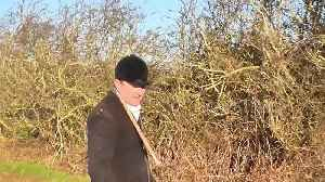 Prince Charles' former hunt under fire after activist filmed desperately trying to save fox from being ripped apart by hounds [Video]