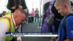 Young boy gets dream vacation [Video]