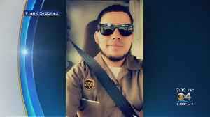 Family, Friends & Coworkers Gather For Viewing Of Slain UPS Driver [Video]