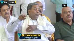 Siddaramaiah resigns as Congress Legislative Party leader in Karnataka [Video]