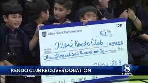 Alisal High club receives $3,300 for new equipment from Salinas PD [Video]
