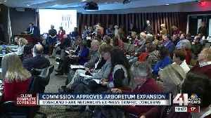 Commission approves arboretum expansion [Video]