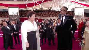 Melissa McCarthy Oscars 2020 Red Carpet Interview [Video]