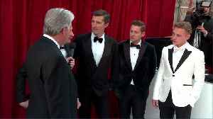 The Cast of 'Bohemian Rhapsody' on the Oscars 2020 All Access Red Carpet [Video]