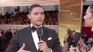 Trevor Noah Oscars 2020 Red Carpet Interview [Video]