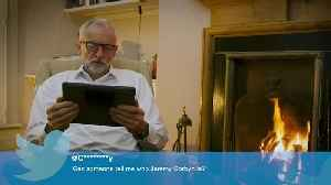 Jeremy Corbyn reads through 'Mean Tweets'