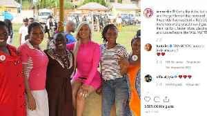 Cardi B brings Christmas to Lagos orphanage [Video]