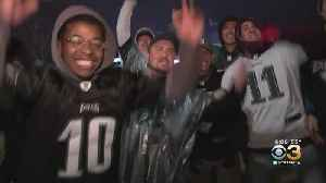 Eagles Fans Celebrate Comeback Win Over Giants [Video]