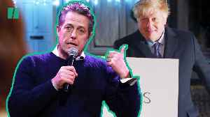 Hugh Grant Weighs In On Boris Johnson's Love Actually Parody [Video]