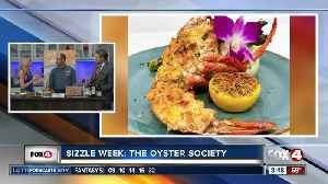 Sizzle SWFL Restaurant Week: The Oyster Society [Video]