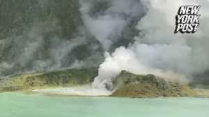 New Zealand volcano violently spewed rocks days before blast [Video]