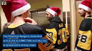Pittsburgh Penguins Bring Holiday Cheer During Visit With Children's Hospital Patients [Video]