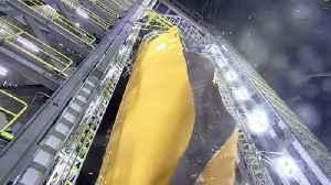 Watch NASA Blow a Hole in its New Moon Rocket's Fuel Tank [Video]