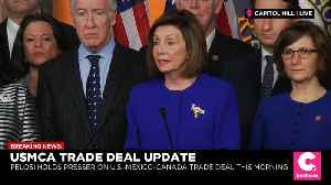 News video: Democrats and White House Finally Have a USMCA Trade Deal