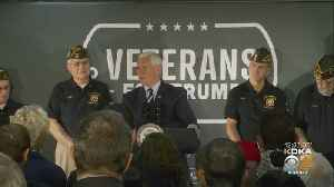 Vice President Mike Pence Talks To Veterans In Beaver Co. [Video]