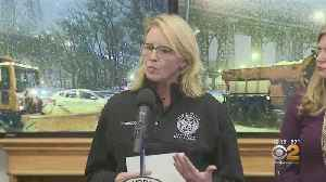 Dept. Of Sanitation Gives Update On Snow Preparations [Video]