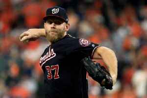 News video: Stephen Strasburg to Return to Nationals on $245 Million Deal