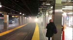 Smoke in Park Street MBTA station forces service suspension [Video]