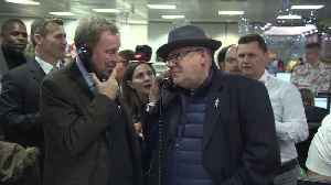 Gareth Southgate and Ray Winstone help close million pound deals at ICAP charity day [Video]