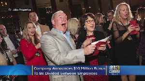 Baltimore Company Surprises Employees With $10M In Bonuses At Holiday Party [Video]