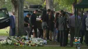 Memorial Growing For Slain UPS Driver As He's Laid To Rest [Video]