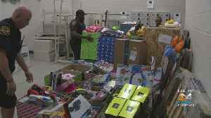 Miramar Police Officers Bring Holiday Cheer To Children [Video]