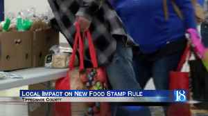 Tippecanoe County community resource leaders react to Trump Administration's new food stamp rule [Video]