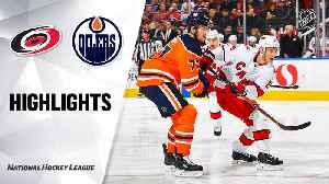 NHL Highlights   Hurricanes @ Oilers 12/10/19 [Video]