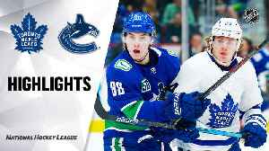 NHL Highlights | Maple Leafs @ Canucks 12/10/19 [Video]