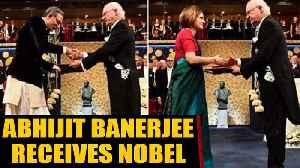 Abhijit Banerjee receives Economics Nobel in Dhoti-Bandhgala | OneIndia News [Video]