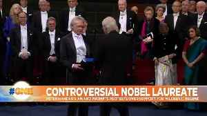 Nobel laureates receive awards in ceremony clouded by controversy [Video]