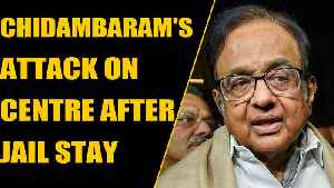 News video: Citizenship Bill: Chidambaram's blistering on Centre attack after jail stay   OneIndia News