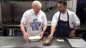 PM makes his 'oven ready' Brexit pie [Video]