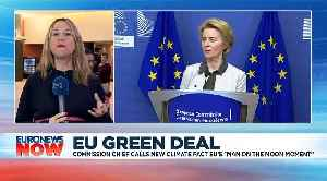 EU to become 'world's first climate-neutral continent', says European Commission chief Von der Leyen [Video]