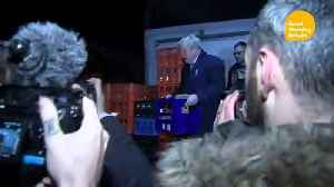 PM hides in fridge as aide swears at reporter [Video]