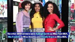 Black Women Top Major Beauty Pageant Competitions in 2019 [Video]