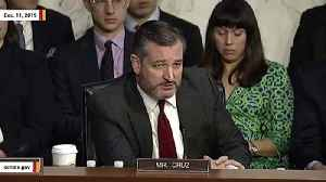 Ted Cruz At IG Report Hearing: 'This Wasn't Jason Bourne, This Was Beavis And Butthead' [Video]