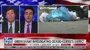Ocasio-Cortez Slams 'White Supremacist Sympathizer' Tucker Carlson After Segment On Her District [Video]