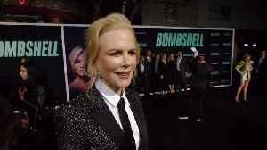 'Bombshell' Premiere: Nicole Kidman [Video]