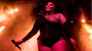 News video: Lizzo Wears $37,000 Cape Backwards