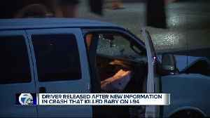 Driver released after new information in crash that killed toddler on I-94 [Video]
