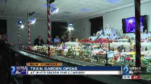 Holiday train garden opens at White Marsh Fire Company [Video]