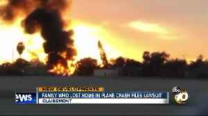 Clairemont family who lost home in plane crash files lawsuit [Video]