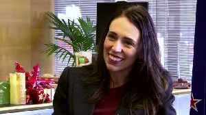 News video: New Zealand Prime Minister Ardern talks government progress ahead of a 2020 general election