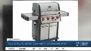 Bass Pro recalling MR. STEAK propane gas grill due to potential fire hazard [Video]