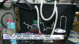 Stitching together the refugee community in the Queen City, Sew Redi Buffalo creates totes [Video]