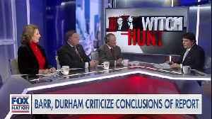 News video: Fox News panel slams Comey